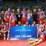 مقام دوم لیگ جهانی 2015 صربستان