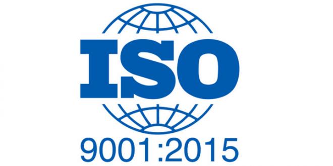 دریافت گواهینامه ISO 9001-2015 از کشور انگلستان