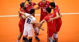 برنامه بازیهای تیم ملی والیبال ایران در المپیک توکیو